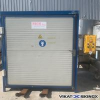 Heated and ventilated retention cabinet