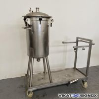 Stainless steel tank 130 litres