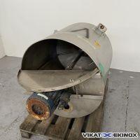 Cuve mélangeuse 500 litres inox