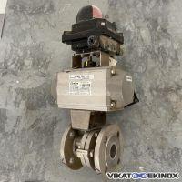 MECA-INOX S/S 316 motorized ball valve DN40