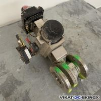 S/S 316 motorized ball valve DN50