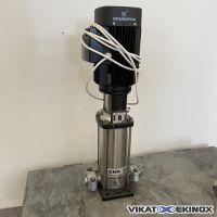 Pompe centrifuge multicellulaire inox 5.7 m3/h GRUNDFOSS type CRNS-10