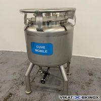 Container 100 litres inox 316L EUROCONT