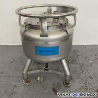 EUROCONT 80 litres container S/S 316L