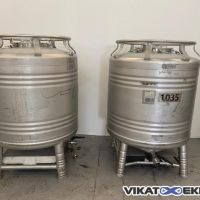 Stainless steel container 1000 L