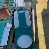 Vanne guillotine pneumatique DN 300 Tecofi