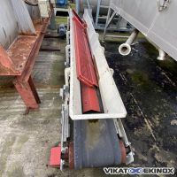 Belt conveyor Length 4100mm x width 500mm
