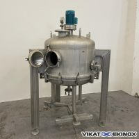 Filtre agité inox 0,45 m2 – 220 litres