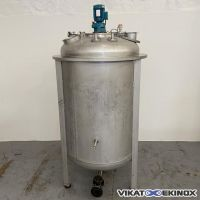 S/S mixing tank 1200 litres