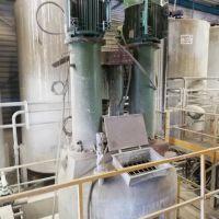 Double agitation mixer 5000 litres