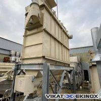 INTENSIV dust collector 73,5 m2 type IFJC 65/1-2 S