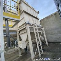 INTENSIV dust collector 56,5 m2 type IFJC 50/1-2 SX