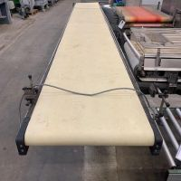 Belt conveyor L. 4970 x W. 595 mm
