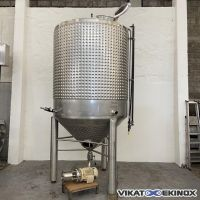 AZZINI FC type S/S mixing jacketed tank 5000 L – YSTRAL agitator