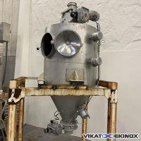 Trémie inox 965 litres