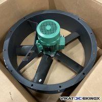 Ventilateur hélicoïde DELTA NEU type NYLAIR 70 5P 1500T 1.5 kw