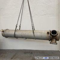 Echangeur tubulaire inox 28,5 m2