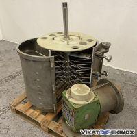 Broyeur émotteur inox Ø 500 mm BIAZZI ISMA