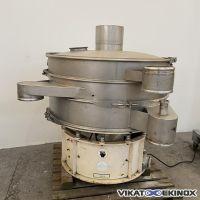 SWECO vibratory separator Ø 1200 mm – 2 decks- type US48S86