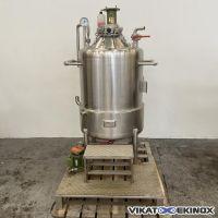 Cuve de mélange 450 litres inox ORTMANS