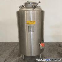 Cuve 735 litres inox 316L 3C -1/+3 bars