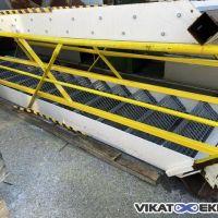 Steel stairs 13 steps width 800 mm