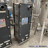 Echangeur à plaques inox APV Type H17R10