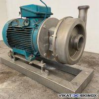 Pompe centrifuge inox 316L ALFA LAVAL type LKH 70/230 SSS 45 kw