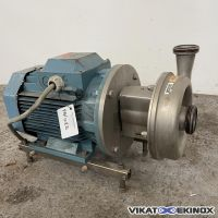 ALFA LAVAL centrifugal pump S/S 316L type LKH 25/205 SSS 11 kw