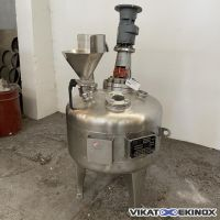 Agitated tank S/S 316L 100 litres
