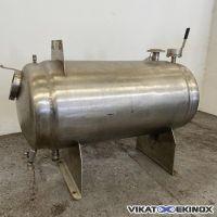 S/S double jacket tank 240 litres
