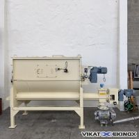 BAUERMEISTER paddle mixer 2000 litres type BE 2000 EX