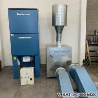 NEDERMAN dust collector 120m2-7000m3/h type FILTERMAX FO 60