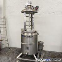 VORTEX S/S rising head mixer 400 litres – double jacket