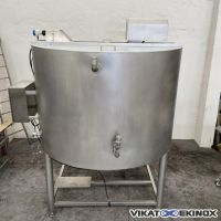 FOMACO S/S mixing tank 3500 L – double wall -type FST 3500