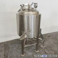 S/S double jacket tank 100 litres