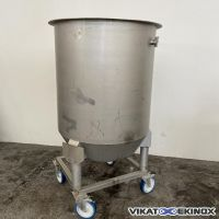 Stainless steel open tank 840 litres