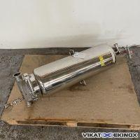 PALL cartridge filter housing type ALTD43G51220 – Double jacket
