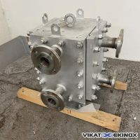 ALFA LAVAL VICARB welded plate heat exchanger type CP20-V-60