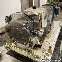 INOXPA S/S rotary lobe pump type SLR-HC 3-50