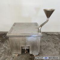 Bac inox 285 litres