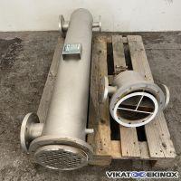 Echangeur tubulaire inox 3m2 GREENFIELD