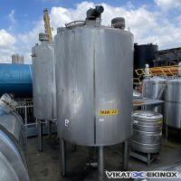 APV TANK S/S mixing tank 7000 litres