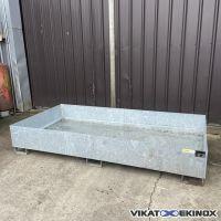 Bac en acier galvanisé 1000 litres BAUER type RW2700-3