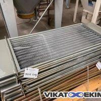 Pannier mannequin métallique à ressorts Long. 1000 mm pour poche filtrante DELTA NEU