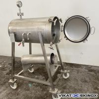Stainless steel tank 135 litres