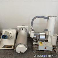 Unité de transfert et remplissage pour 2 silos de 200 litres TIM TRANSITUBE
