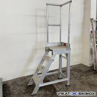 Escalier et plateforme Ht 1000 mm