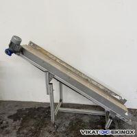 Belt conveyor Length 2015 mm x width 300 mm