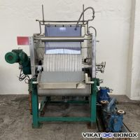 Filtre rotatif sous vide inox 2m2